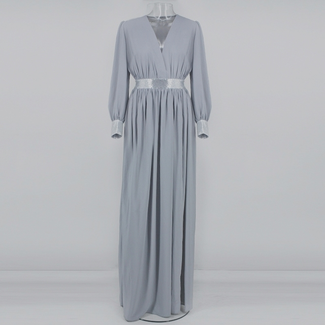 Boho chic sequined maxi summer dress  4