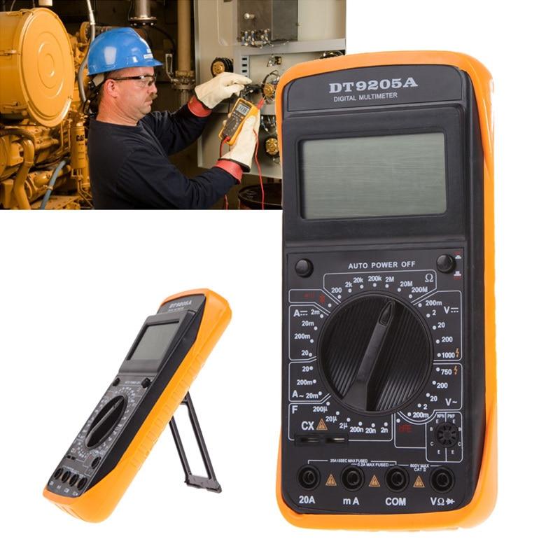 Cartoon Battery Tester : Dt a professional handheld tester digital multimeter