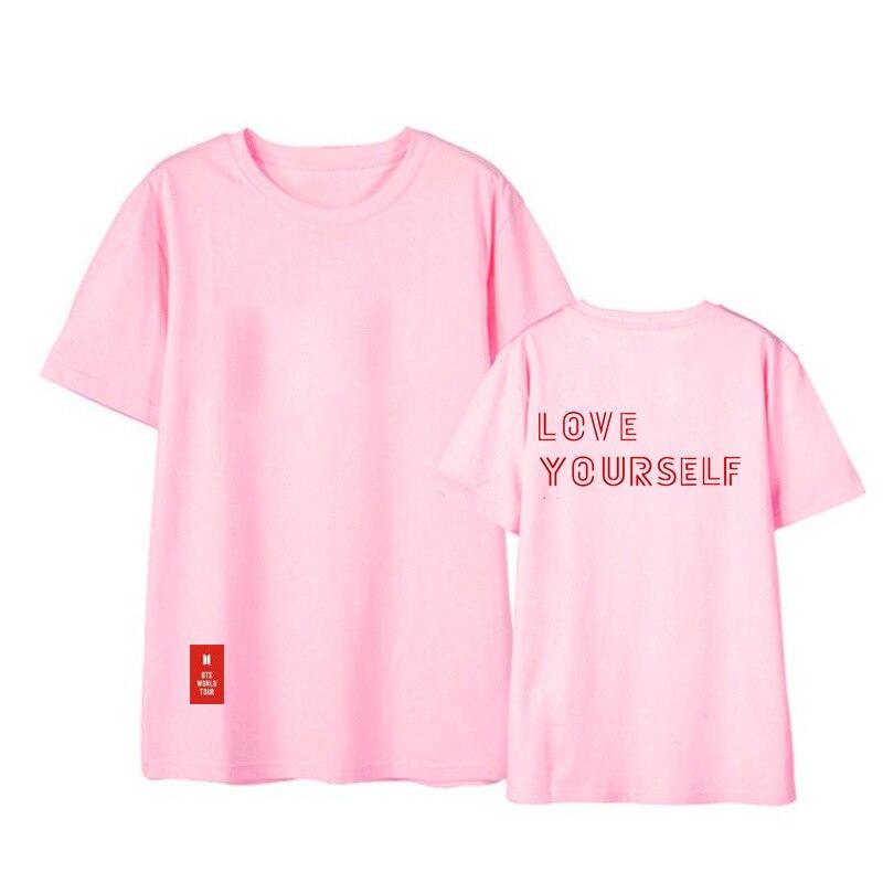 Usted tiene que asegurarse sobre que antes de cohechar un ONGSEONG Kpop BTS  a ti mismo World Tour 2018 álbum camisas HipHop ropa suelta camiseta T  Shirt ... ce7f80cda10