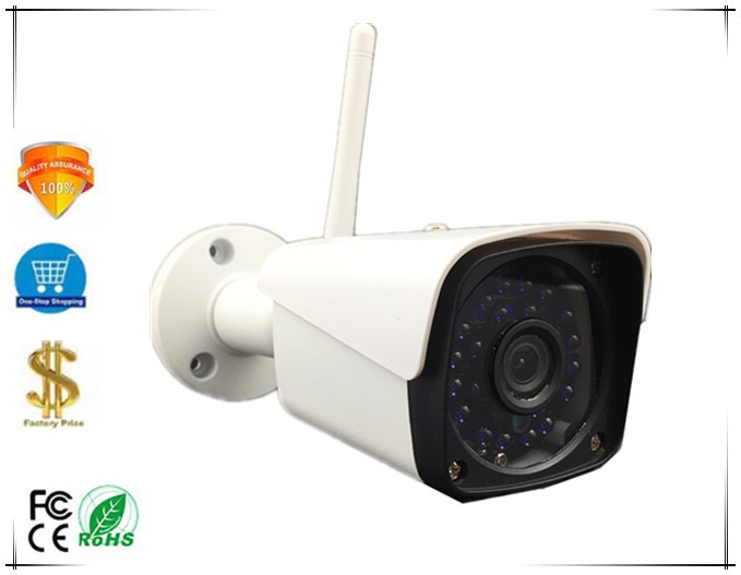 WIFI Wireless 5 0MP 2592 1944 IP Bullet Camera IP66 Waterproof H 265 3516D PS5510 NightVision