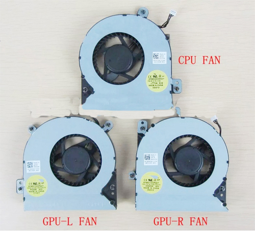 Independent For Dell Alienware M17x R3 R4 R5 Gpu Cooling Fan Dfs601605hb0t Dc28000cnf0 0fkdn8 Dc28000bgf0 0thpdj Thpdj Dc280009af0 04k1mm A Great Variety Of Goods Fans & Cooling
