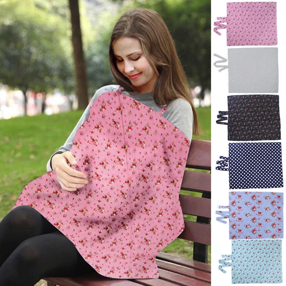 Breastfeeding Nursing Scarf Cover Feeding  Baby Udder Apron Shawl 100/% Cotton