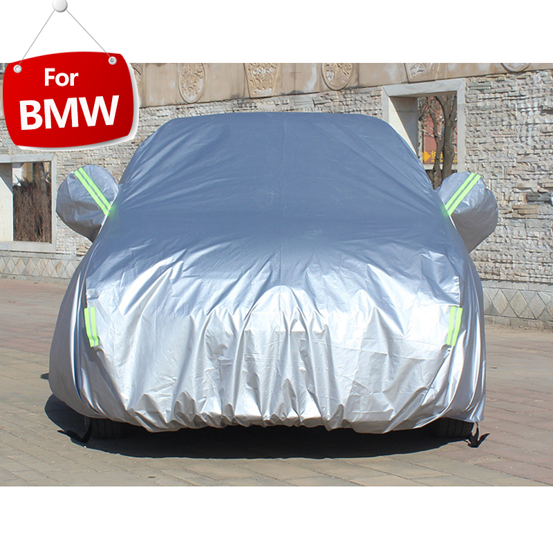 Full Car Covers For BMW X1 X3 X4 X5 X6 F48 E83 E84 F25 F26 E70 E71 F15 With Side Door Open Design Waterproof Car Accessories-in Car Covers from Automobiles & Motorcycles
