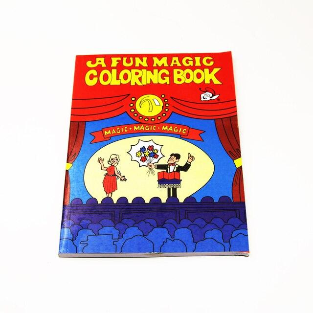Gran tamaño mágico para colorear libro de dibujos animados ...