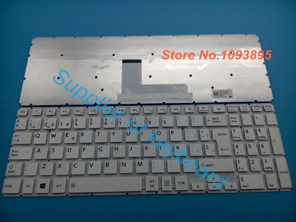 FOR Toshiba Satellite L50-B L50D-B L50t-B Keyboard Spanish Teclado Black