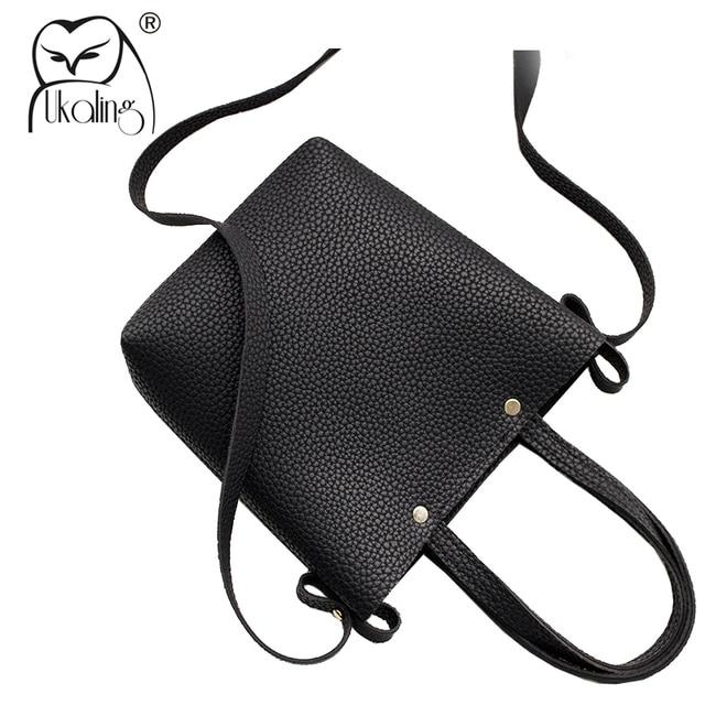 fae92e82d730 UKQLING Mini Tote Purse Handbag Women Messenger Bags Small Cheap Cross Body  Shoulder Bag Bucket Clutch Phone Package PU Leather