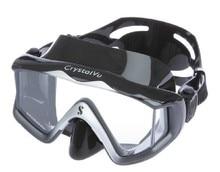 Scage apro Crystal Vu قناع غوص بزاوية واسعة للغوص والغوص الحر والسباحة