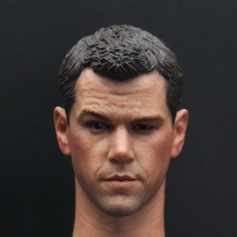 1/6 Scale Bernes identity Rebel Chasing Bourne Mars Rescue Matt Damon Head Sculpt Headplay for 12 Action Figure Body Doll Toys1/6 Scale Bernes identity Rebel Chasing Bourne Mars Rescue Matt Damon Head Sculpt Headplay for 12 Action Figure Body Doll Toys
