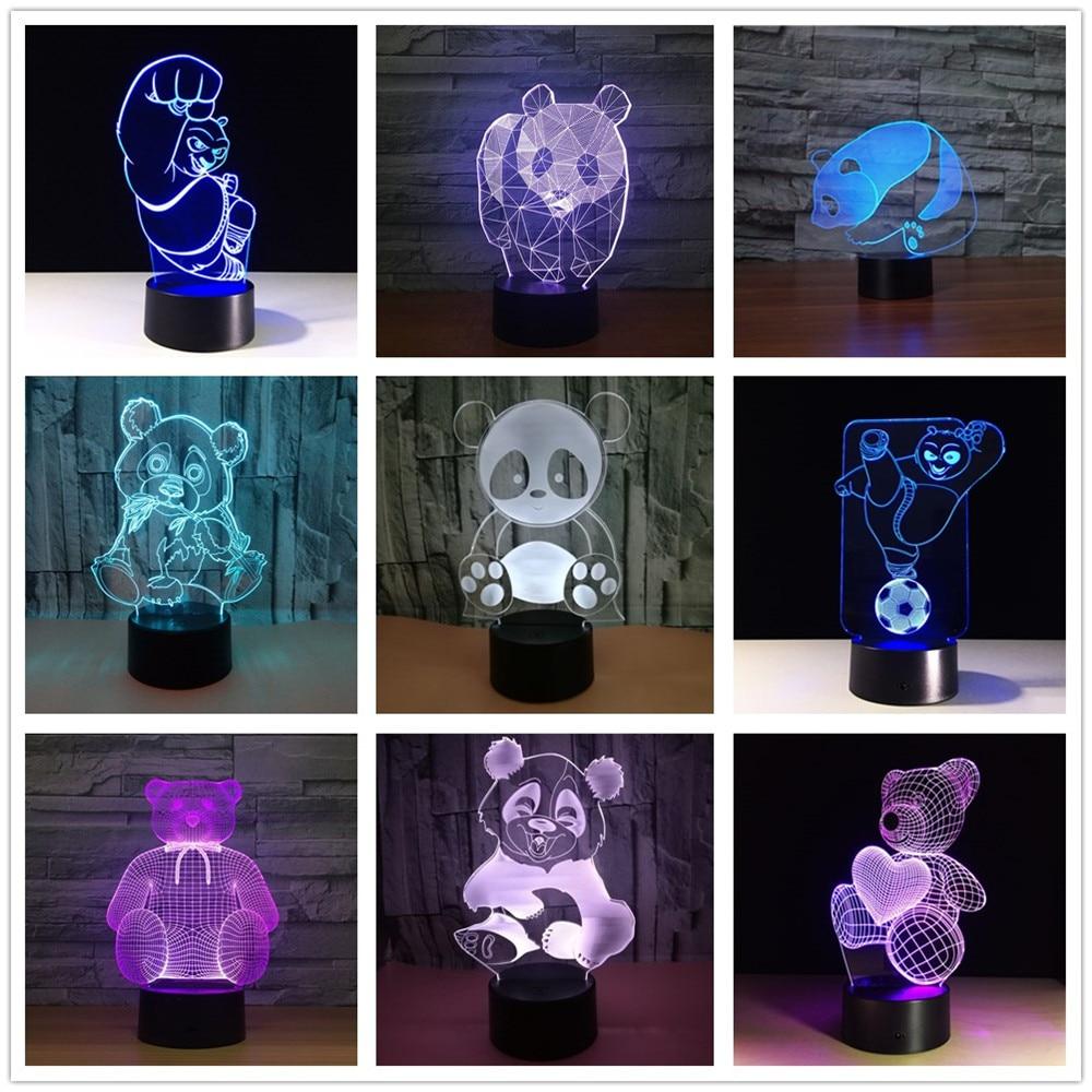 Fernbedienung Tisch- & Nachttischlampen Leuchten für Kinder Kreative Dna Energiesparende Schlaflampe Usb-Lampe Des Romantischen Geschenks