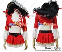 Angel Veer Retro Paleis Piraat Kostuum Cosplay Outfit H008