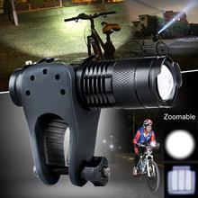 Portable CREE Q5 Adjustable Focus 2000 Lumens LED Flashlight