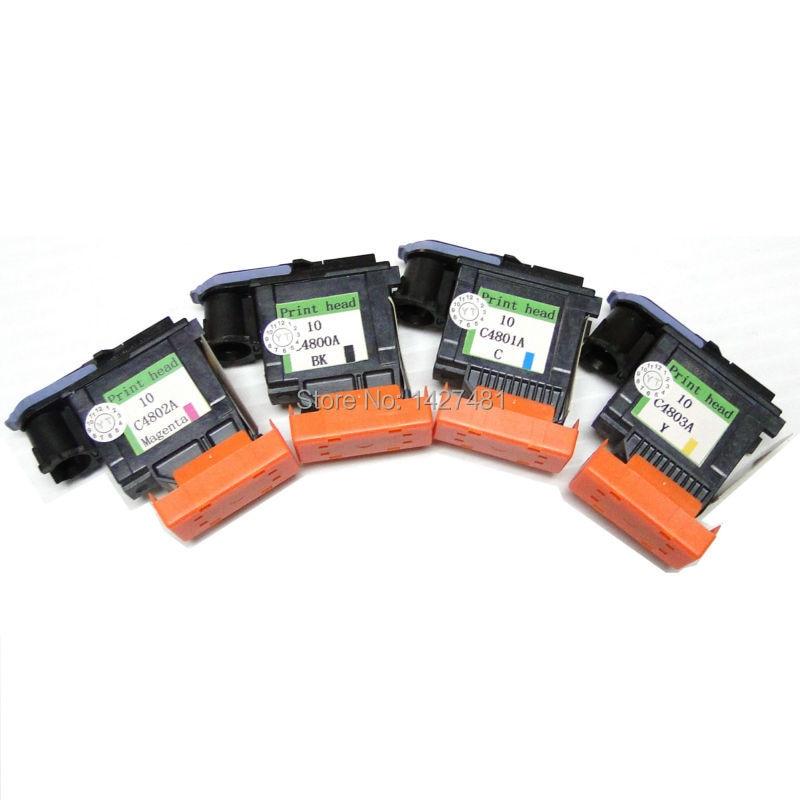YOTAT Regenerowana 10 głowica drukująca C4800A C4801A C4802A C4803A - Elektronika biurowa - Zdjęcie 1