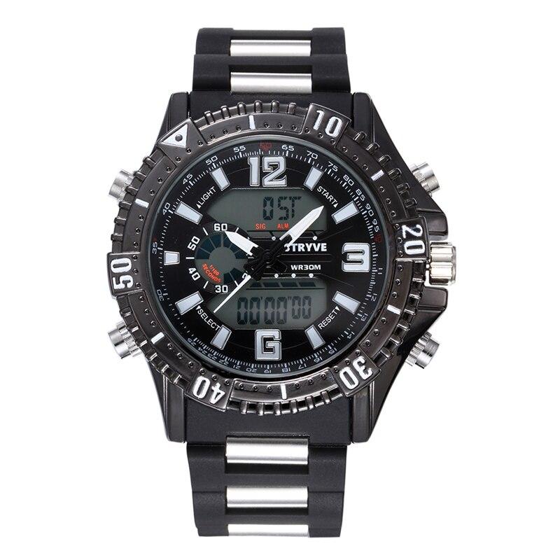 fd39aac835f STRYVE Moda Relógio Do Esporte Dos Homens Top Marca de Luxo Famoso  Eletrônico Digital LED Relógio de Pulso Masculino Relógio Homens Relogio  masculino em ...