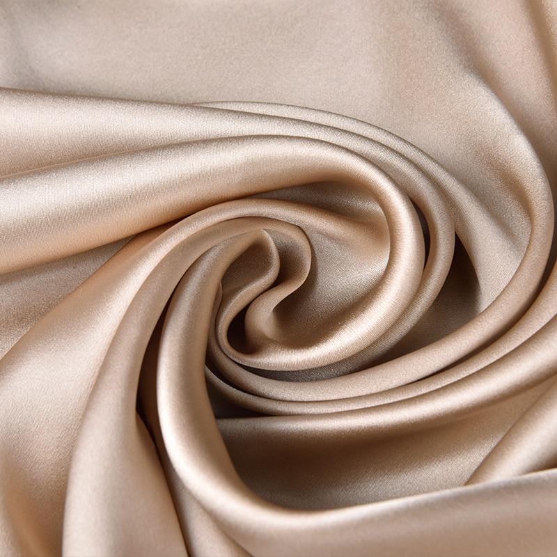 Дамы 100% чистый Шелковый шарф люксовый бренд 2019 шелк из Ханчжоу шали и обертывания для женщин вышивка длинные натуральные настоящие шелковы... - 5
