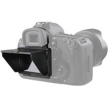 2 в 1 ЖК экран протектор всплывающий солнцезащитный козырек Крышка для Canon 5D MARK III IV