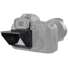 2in1 LCD Screen Protector Pop up Sun Shade Hood Cover for Canon 5D MARK III IV