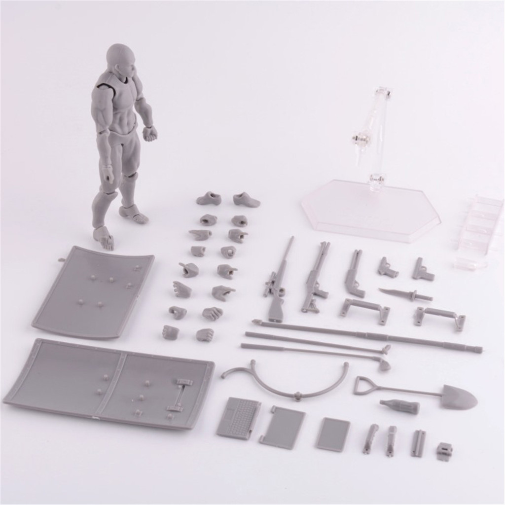 Figures Mannequin Artists-Joint-Figure-Model Anime Human Body for Bjd-Art Woman Draw
