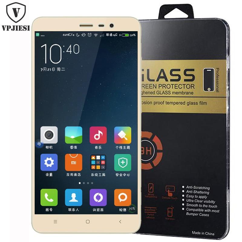 For Xiaomi redmi note 4x Tempered Glass Film 9H redmi 3s redmi 4x note 3 pro note 2 4x 4a xiaomi Max mi4 4c mi5 screen Protector