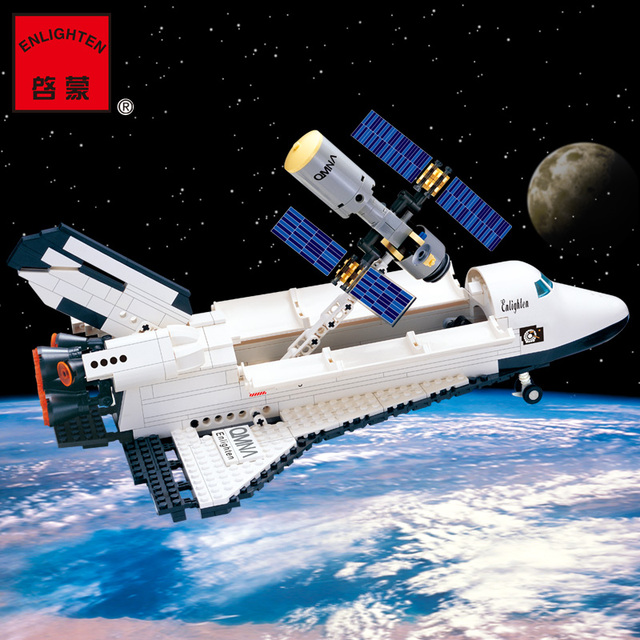 ENLIGHTEN Space Series Space Shuttle Initiation Astronaut Assemble