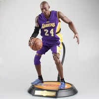 NBA Basketball Star Kobe Bryant Action Figure 34cm High Model Toys For Sport Basketball Lover Collection
