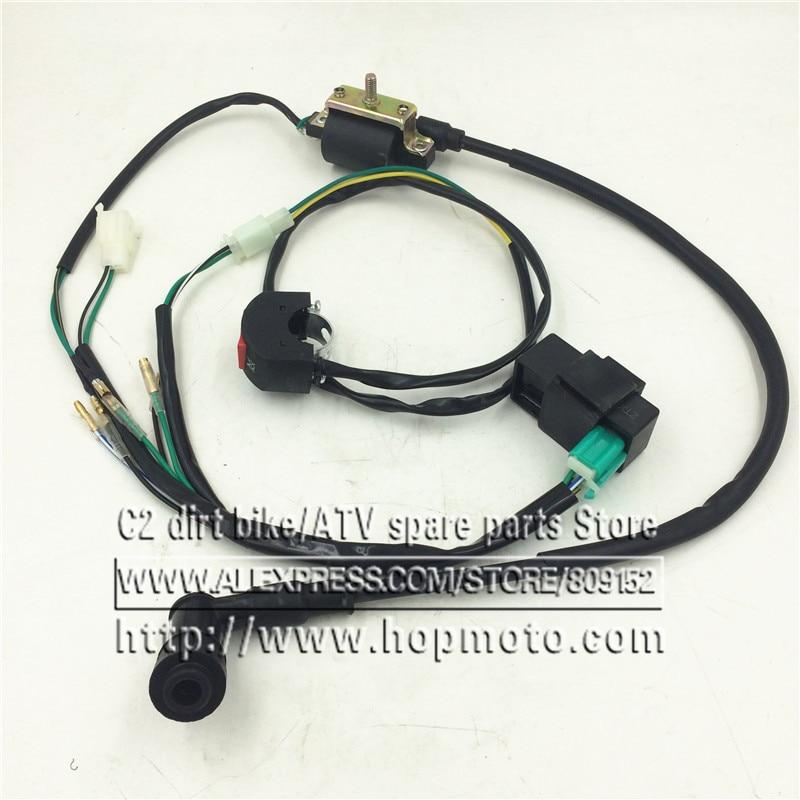 New Wiring Loom Harness 5 Pin Cdi Pit Bike 90cc 110cc