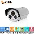 Câmera AHD 1080 P 960 P 720 P Câmera De Segurança HD AHD Analógico/TVI/CVBS/CVI Plug And Play câmera do IR 50 M Câmera de CCTV Com OSD Menu