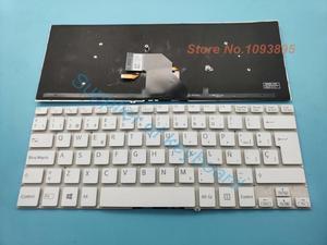 Image 1 - NEW Spanish/Latin keyboard For SONY VAIO SVF144B1EU SVF14325CLW SVF14413CLW SVF142C29U White Laptop Spanish keyboard Backlit