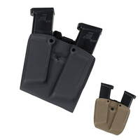 Kydex Glock Double Stack 9mm 40 Mag Carrier