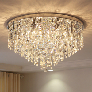Image 3 - מודרני נברשת קריסטל תאורה סומק הר נברשות אור עבור עבור סלון אוכל חדר שינה אולם מסעדת מלון דקור