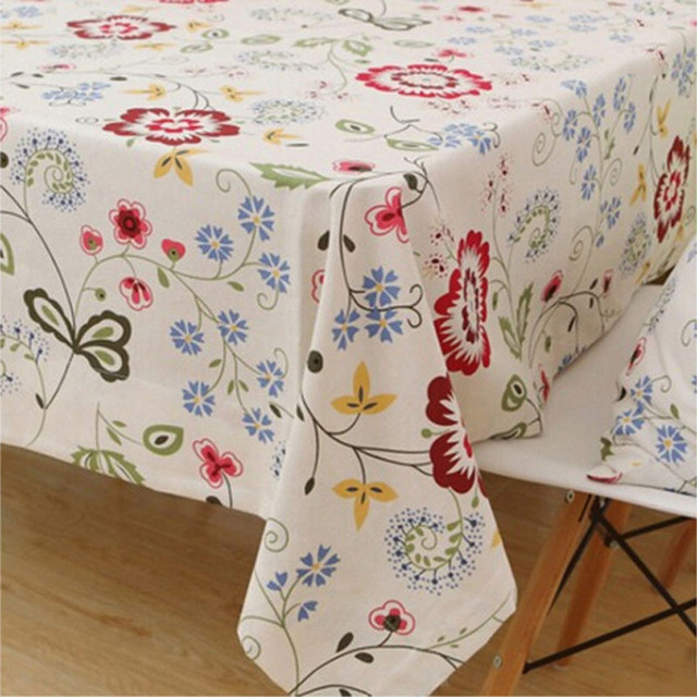 Cotone fiore tovaglie tovaglia fabbrica crochet tavolo da cucina ...