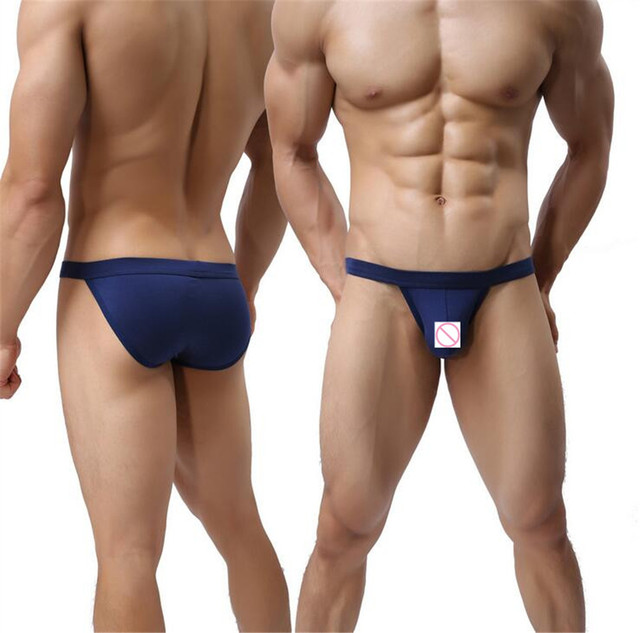 9defb71e7eaa 5Colors Men Modal Thong Men's Brand Sexy Briefs Bikini G-string Breathable  Thong Exotic Underwear