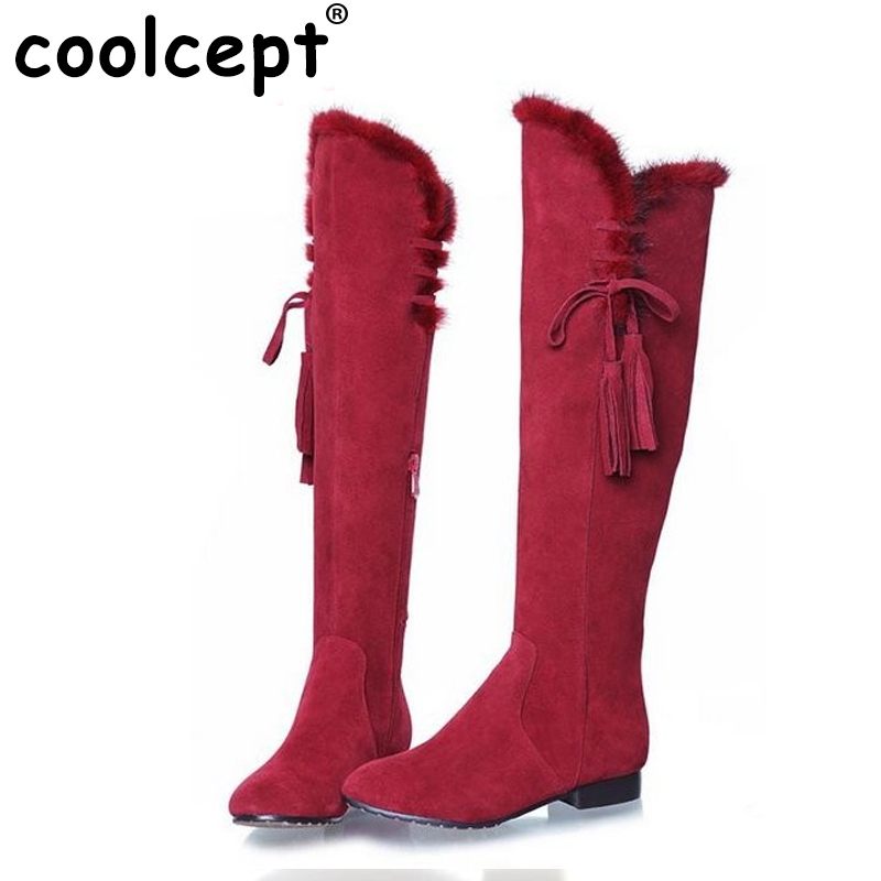 women real genuine leather flat over knee boots fashion long boot winter botas feminina brand footwear shoes R1839 size 34-40 free shipping denim overalls men 2016 new brand fashion mens bib denim shorts bib jeans fast delivery size s m l xl xxl 3xl 4xl