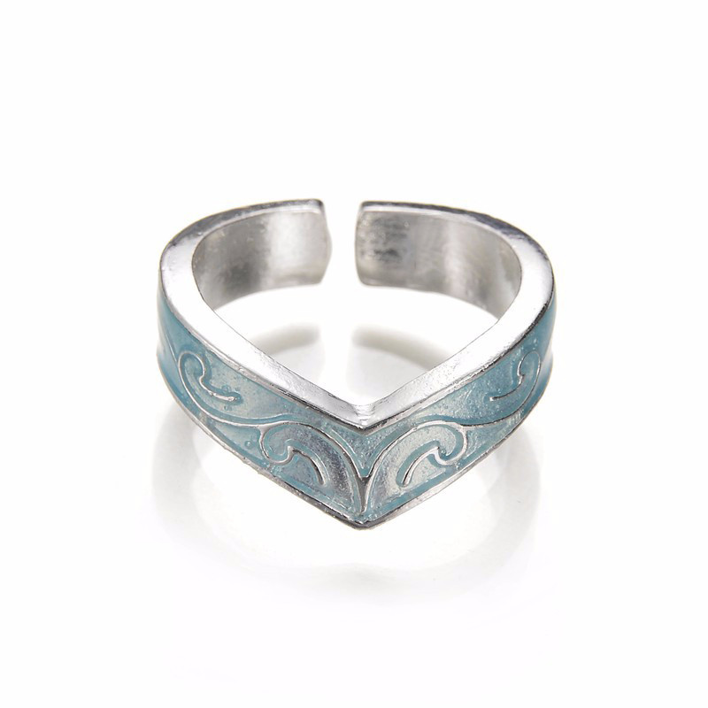 Glow-In-The-Dark-Ring-Style-Retro-Can-be-Adjusted-Geometric-Mayan-Mysterious-Luminous-Fluorescent-Glowing (2)