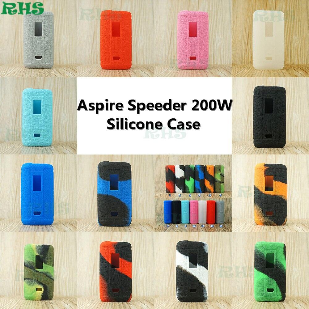 RHS Nouveau Arrivent Housse En Silicone pour Aspire Speeder 200 W Kit avec 13 différents frais couleurs de Chine usine livraison gratuite
