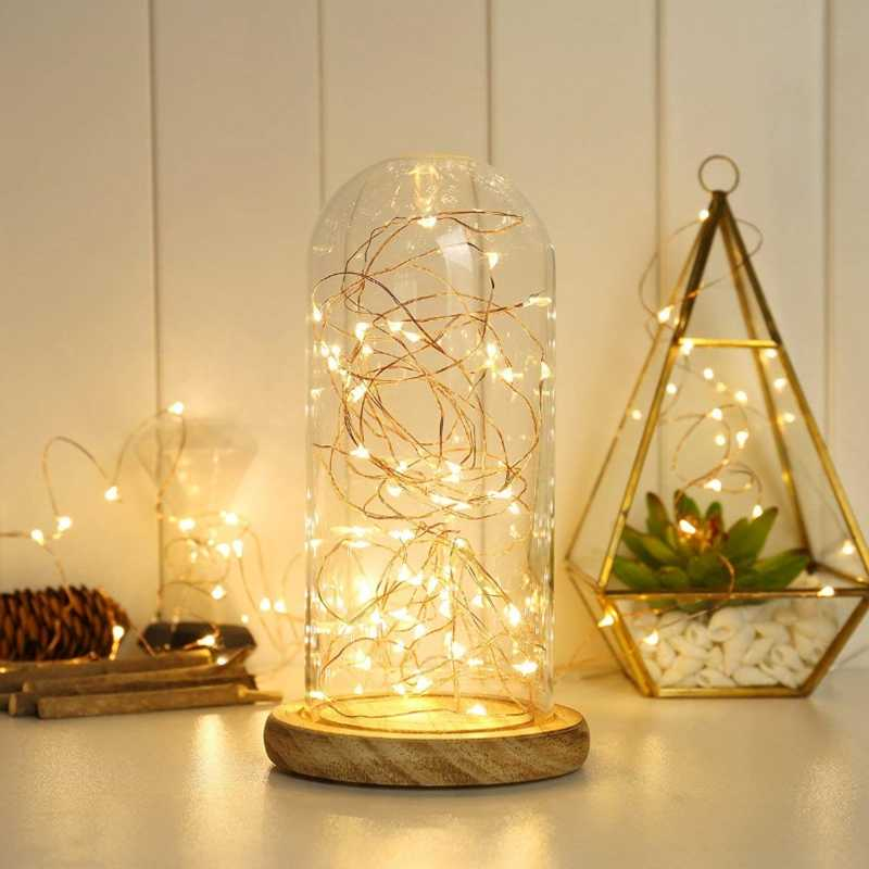Battery Operated Copper Lights 2M 20LED Fairy String Light for Halloween Party DIY Wedding Home DIY Decoration