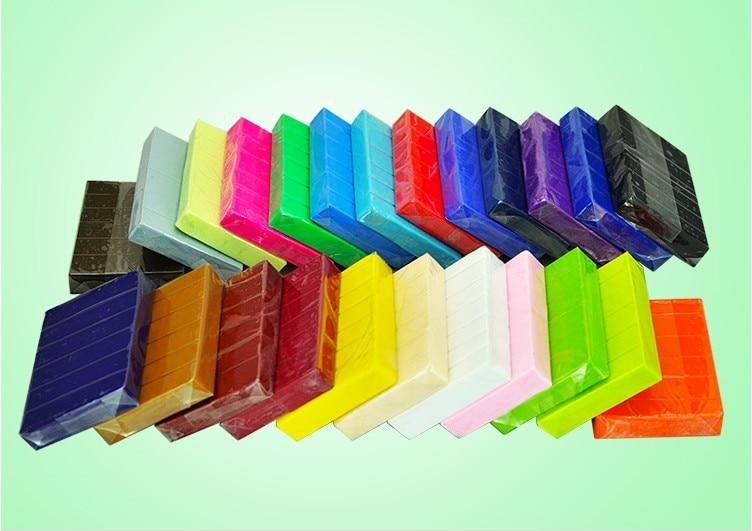 1 St Nieuwe Verschillende Zachte Polymer Boetseerklei Fimo Effect Blokken Speciale Speelgoed Diy Polymeer Klei Hot Sal Clay Craft 500g R0002 Mooi En Charmant