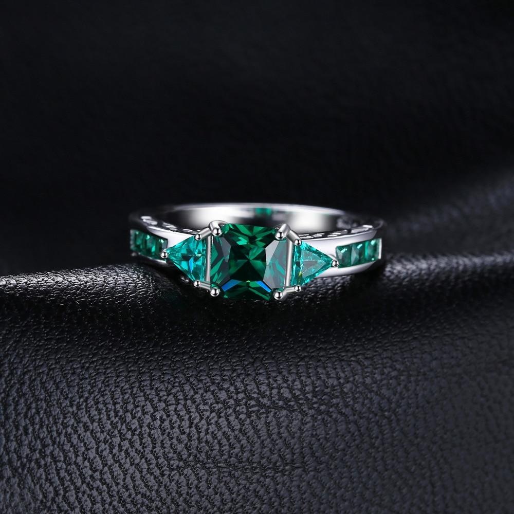 JewelryPalace Caved 1.3ct Nano Russian Simulated Emerald Statement - Նուրբ զարդեր - Լուսանկար 2