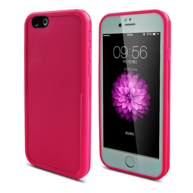 Fasion Candy Color vattentätt fodral för iPhone SE 5 5S 6 6S 7 Plus - Reservdelar och tillbehör för mobiltelefoner - Foto 6