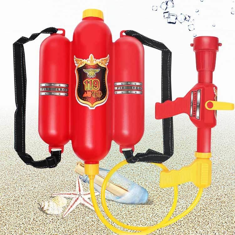 Spraying Water Children Fire Backpack Sprayer Summer Toy Air Pressure For Beach Lake Tourism And Outdoor Activities For Kid Toys