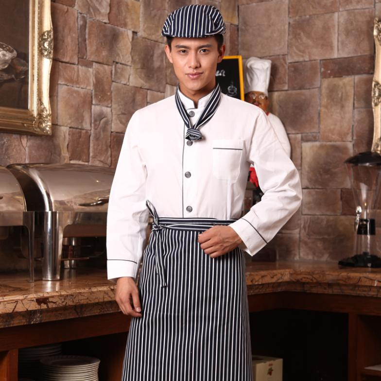 Restaurant Kitchen Uniforms aliexpress : buy hotel chef restaurant chef serving long