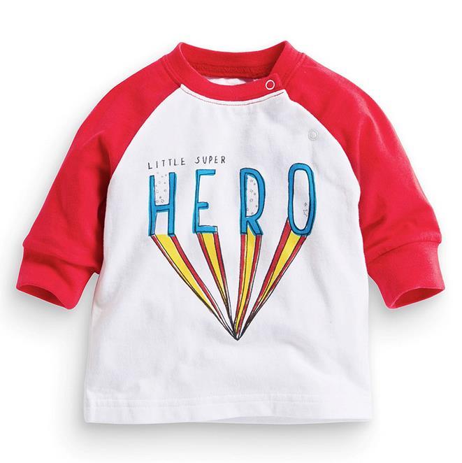 18m-6t years girls T-shirt Kids Tees Baby girl brand t shirts Children tees Long Sleeve 100% Cotton Cute Hero boy shirts