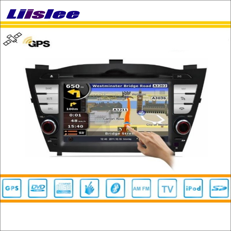Liislee Car Android Multimedia For Hyundai IX35 2010~2013 Radio CD DVD Player GPS Navi Map Navigation Audio Video Stereo System