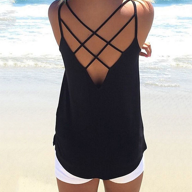 Women'S Camisole Solid...