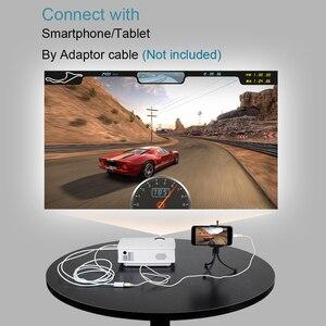Image 3 - BYINTEK gökyüzü BT140 Mini LED taşınabilir Video HD projektör ev sineması için