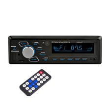 Car MP3 Player 12V Bluetooth Car Stereo Audio In-dash Single 1 Din FM Receiver Aux Input  USB MP3  WMA Radio Player BT car mp3 12v car radio vehicle electronics in dash mp3 audio player hifi car stereo with 4 loudspeakers fm stations mp3 wma usb sd port