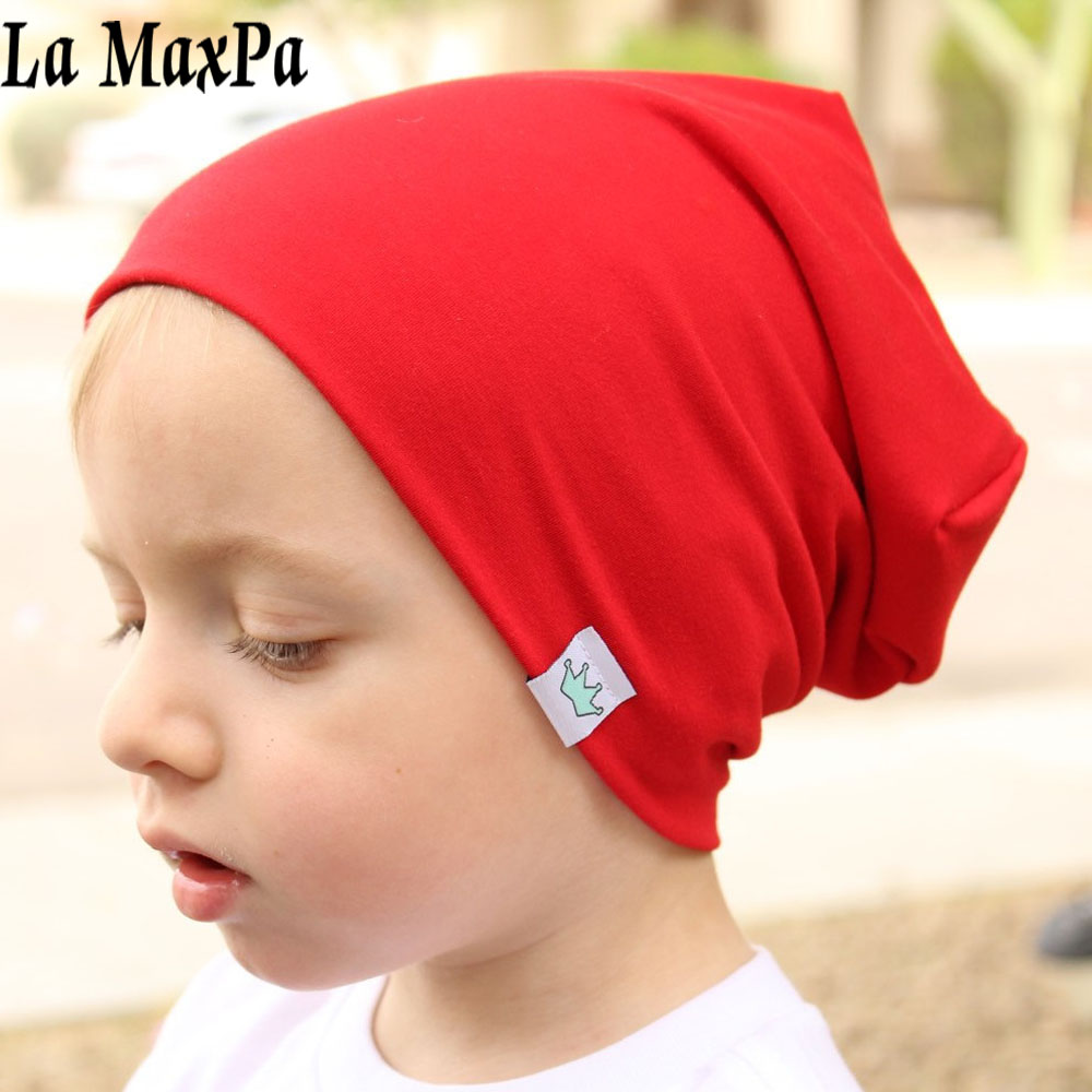 Fashion Cute Solid Knitted Cotton Hats For Newborn Baby Children Autumn Winter Warm Earmuffs Colorful Crown Caps Skullies лонгслив catimini catimini ca053egvce06 page 8