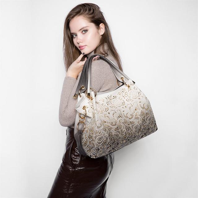 Women Floral Print Shoulder Bags