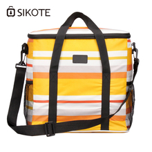 SIKOTE 17L Large Aluminum Foil Ice Pack Bags Heat Preservation Lunch Breast Milk Cold Outside Warm And Insulation Packs Bag