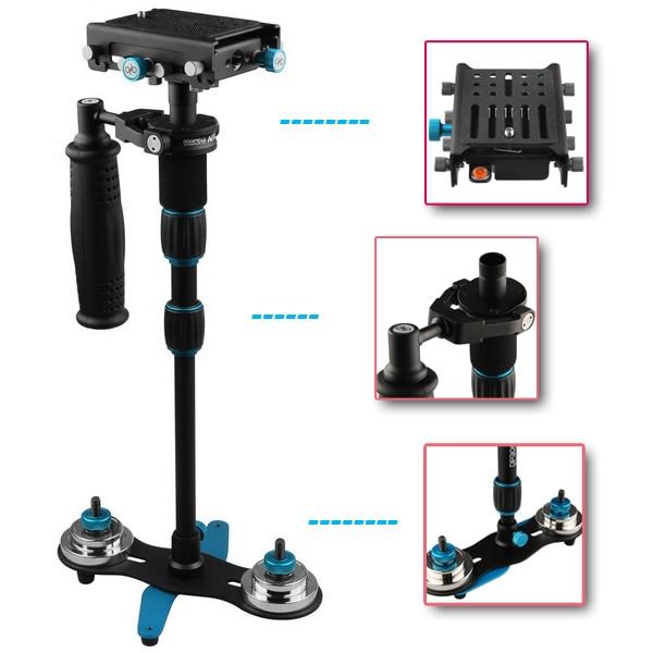 bilder für FOTGA S-450 Handheld Steadycam Video Stabilizer für DSLR Kamera Camcorder HDDV