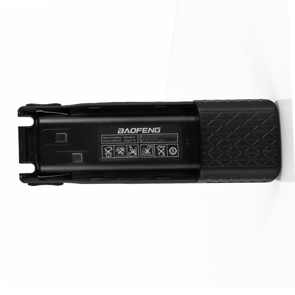 BAOFENG UV-82 BL-8L DC connector 7.4V 3800mah Li-ion Battery For Baofeng Walkie Talkie BF-UV82 Series Two Way Radio UV 82 RadioBAOFENG UV-82 BL-8L DC connector 7.4V 3800mah Li-ion Battery For Baofeng Walkie Talkie BF-UV82 Series Two Way Radio UV 82 Radio